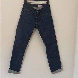 Gustin Slim Button Fly Jeans